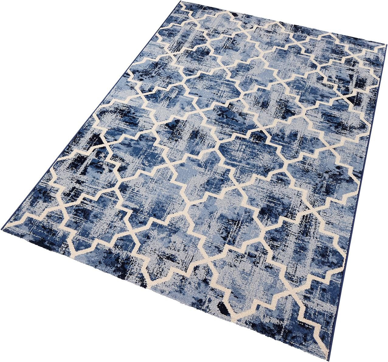Teppich Elegance SCHÖNGEIST & PETERSEN rechteckig Höhe 9 mm