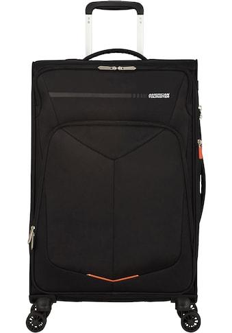 American Tourister® Weichgepäck-Trolley »Summerfunk, 67 cm, black«, 4 Rollen kaufen