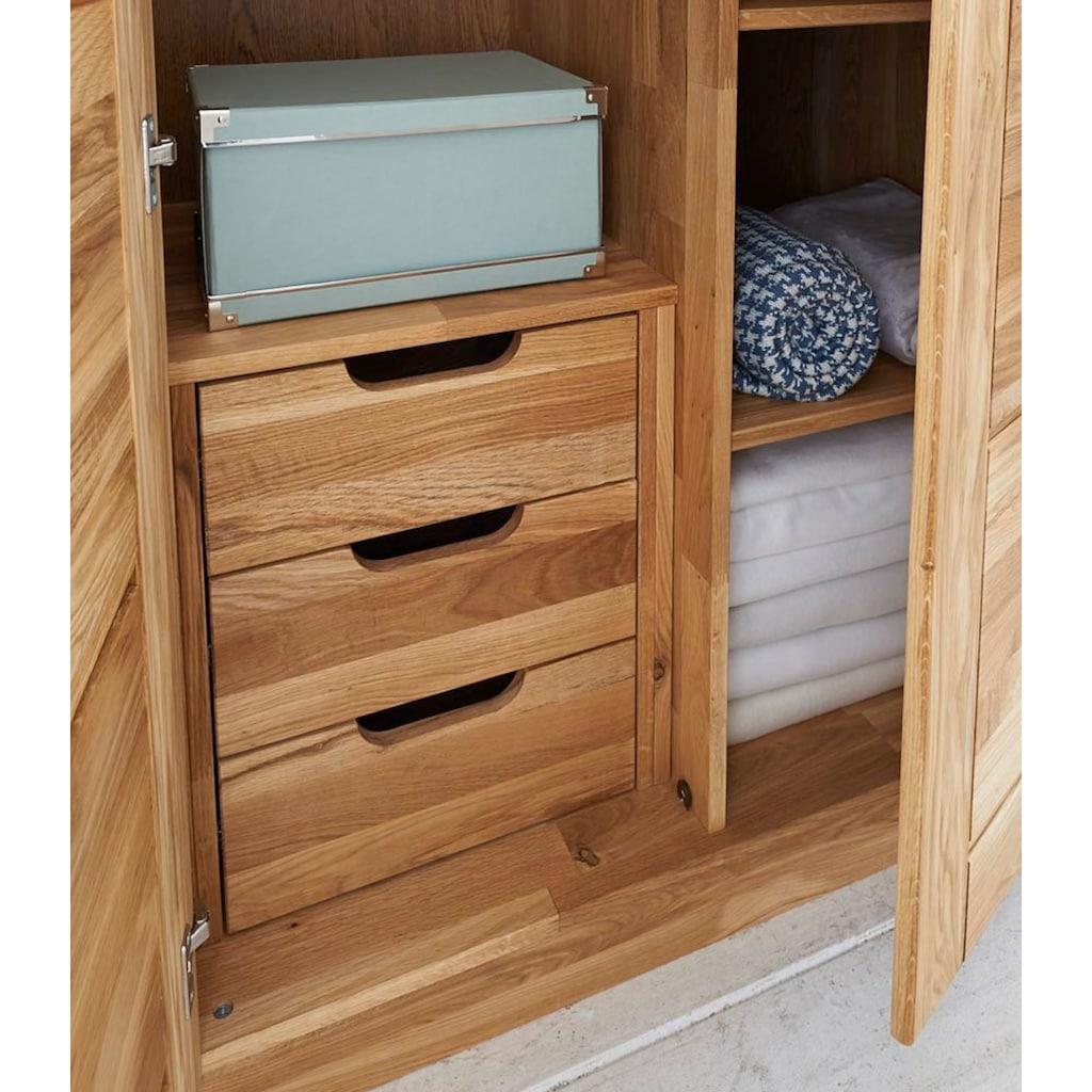 Premium collection by Home affaire Schubkasteneinsatz, aus schönem massivem Wildeichenholz, in zwei verschiedenen Breiten