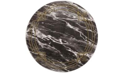 Teppich, »Noa 9297«, Carpet City, rund, Höhe 11 mm, maschinell gewebt kaufen