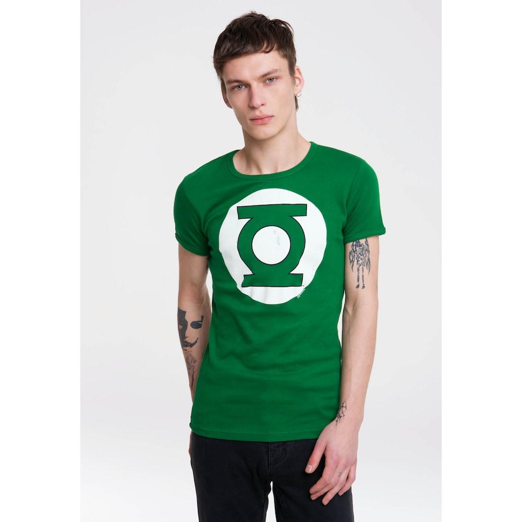 LOGOSHIRT T-Shirt, mit Green-Lantern-Logo