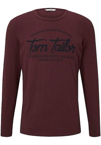 TOM TAILOR Langarmshirt kaufen