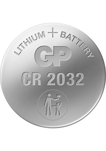 GP Batteries Knopfzelle »CR2032 Lithium«, CR2032, 3 V, (Set, 10 St.) kaufen