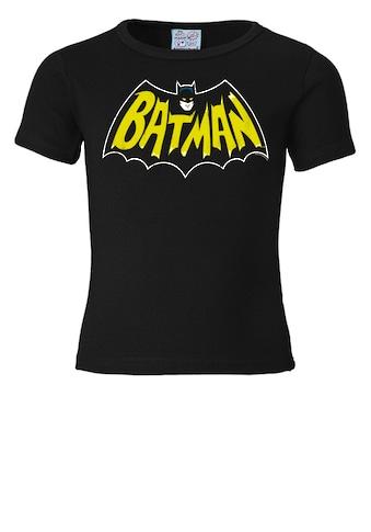 LOGOSHIRT T - Shirt mit coolem Superhelden - Motiv »Batman« kaufen
