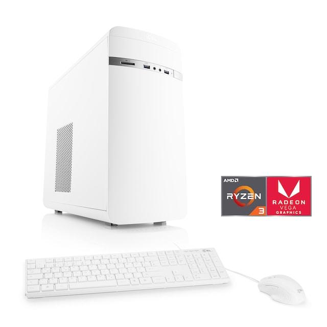 CSL Multimedia PC   AMD Ryzen 3 2200G   Vega 8   SSD   8 GB DDR4 »Sprint T8887 Windows 10 Home«