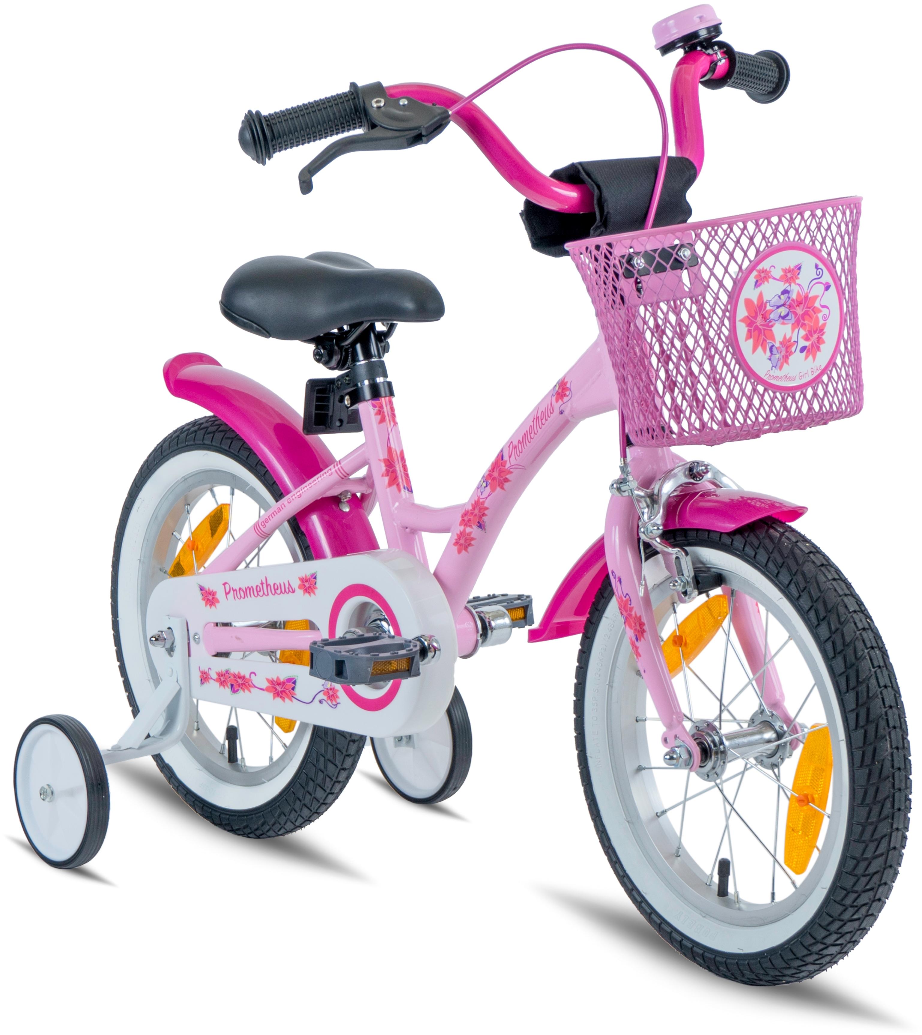PROMETHEUS BICYCLES Kinderfahrrad Hawk, 1 Gang rosa Kinder Kinderfahrräder Fahrräder Zubehör Fahrrad