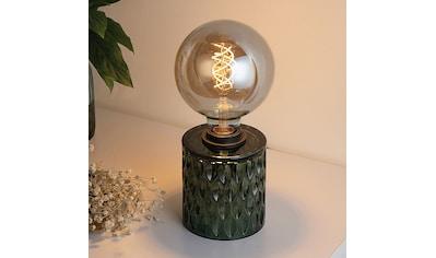 Pauleen LED Tischleuchte »Crystal Magic inklusive Leuchtmittel«, E27, 2 St., Warmweiß, Grün, Glas kaufen