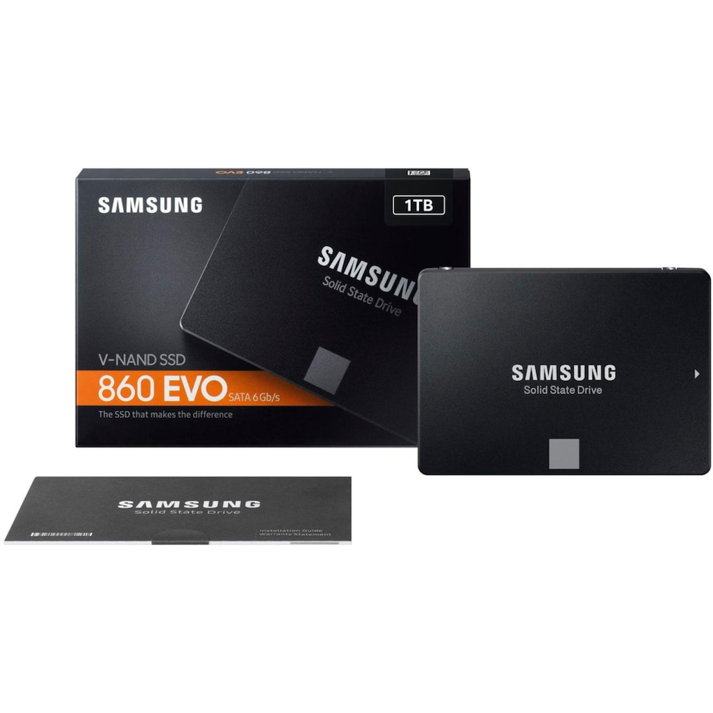 Samsung interne SSD »860 EVO«