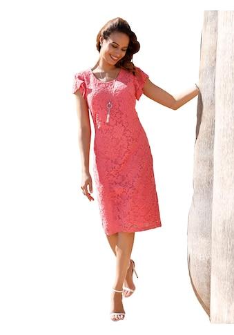 Lady Kleid allover aus edler und angenehm weicher Spitze kaufen