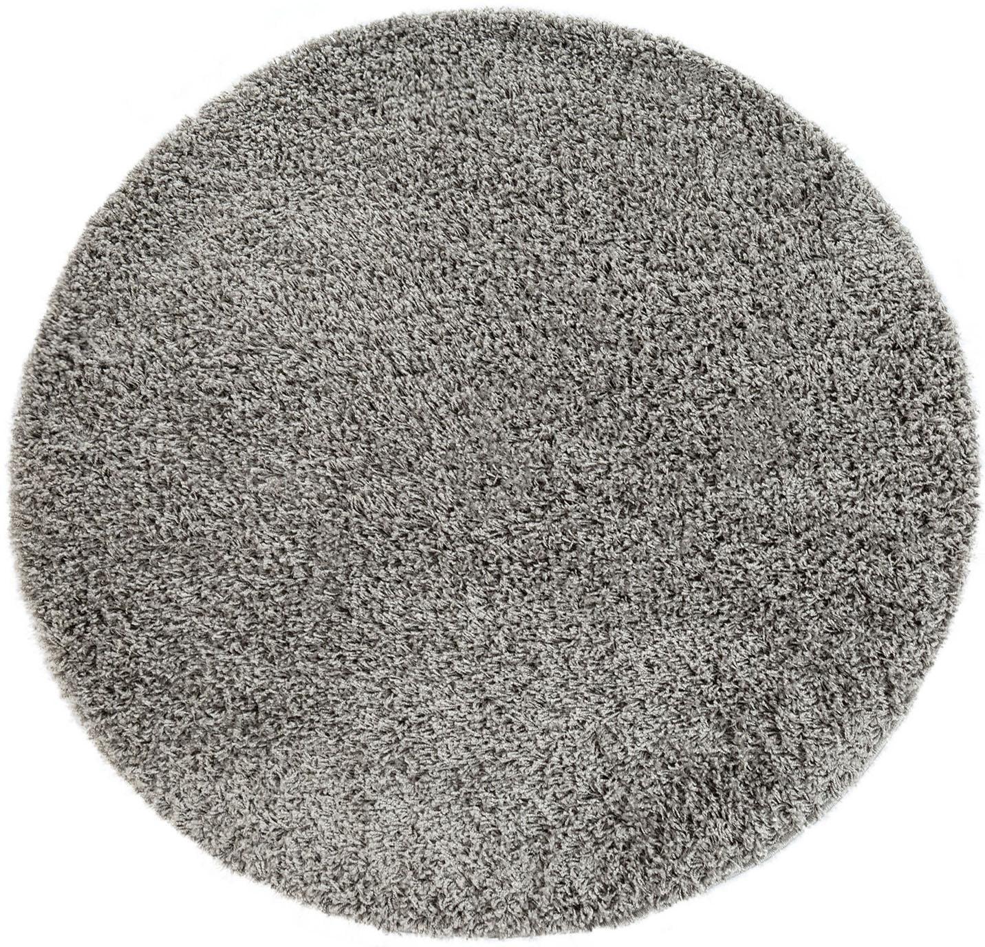 Hochflor-Teppich Twister 500 Paco Home rund Höhe 45 mm