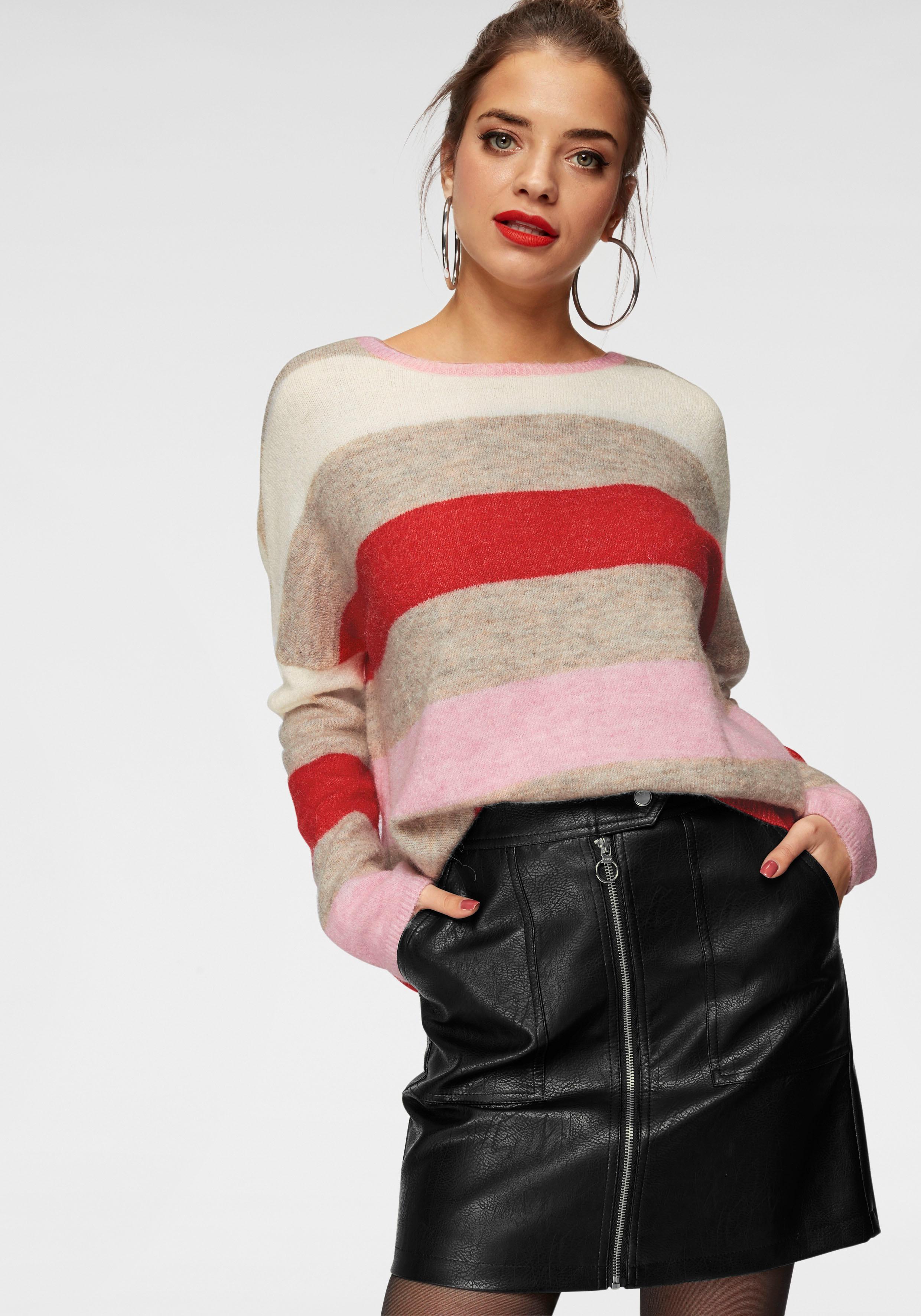 Only Streifenpullover JOSIE | Bekleidung > Pullover > Streifenpullover | Only