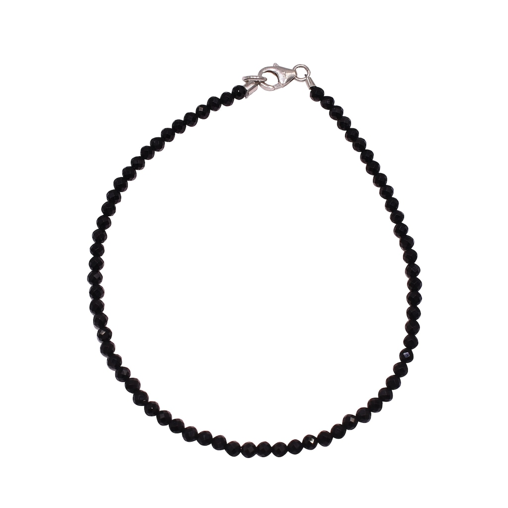 Firetti Armband »Steinschmuck, 3 mm breit«, mit Spinell, Made in Germany