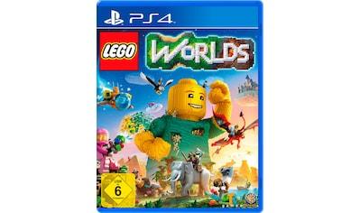 Warner Games Spiel »Lego Worlds«, PlayStation 4, Software Pyramide kaufen