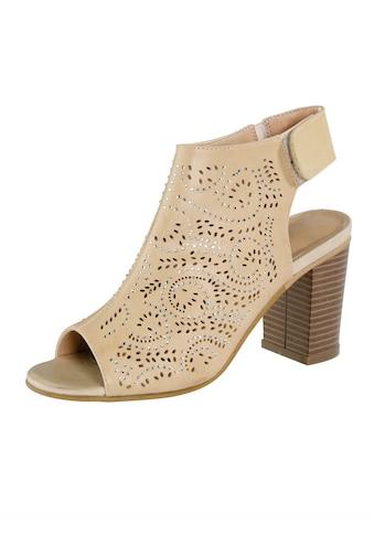 Liva Loop Sandale mit Klettriegel an der Ferse kaufen