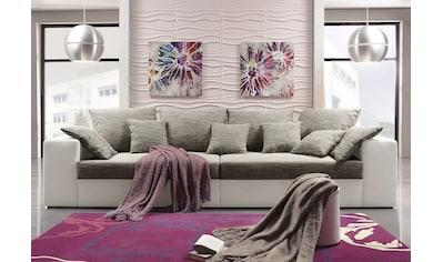 Nova Via Big-Sofa »Corona«, wahlweise mit Kaltschaum (140kg Belastung/Sitz) und... kaufen