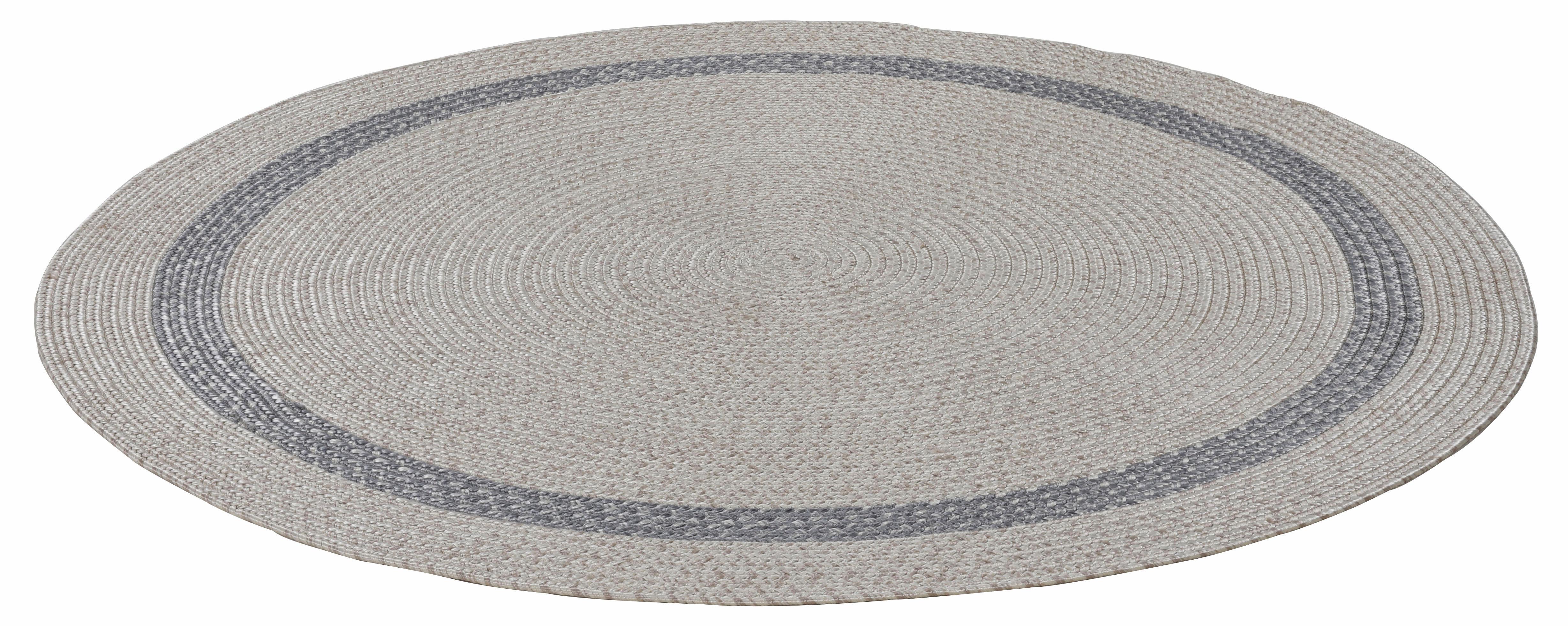 Teppich Benito THEKO rund Höhe 6 mm handgewebt
