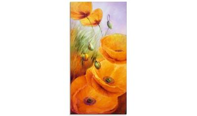 Artland Glasbild »Keine Wolkentage mehr«, Blumen, (1 St.) kaufen