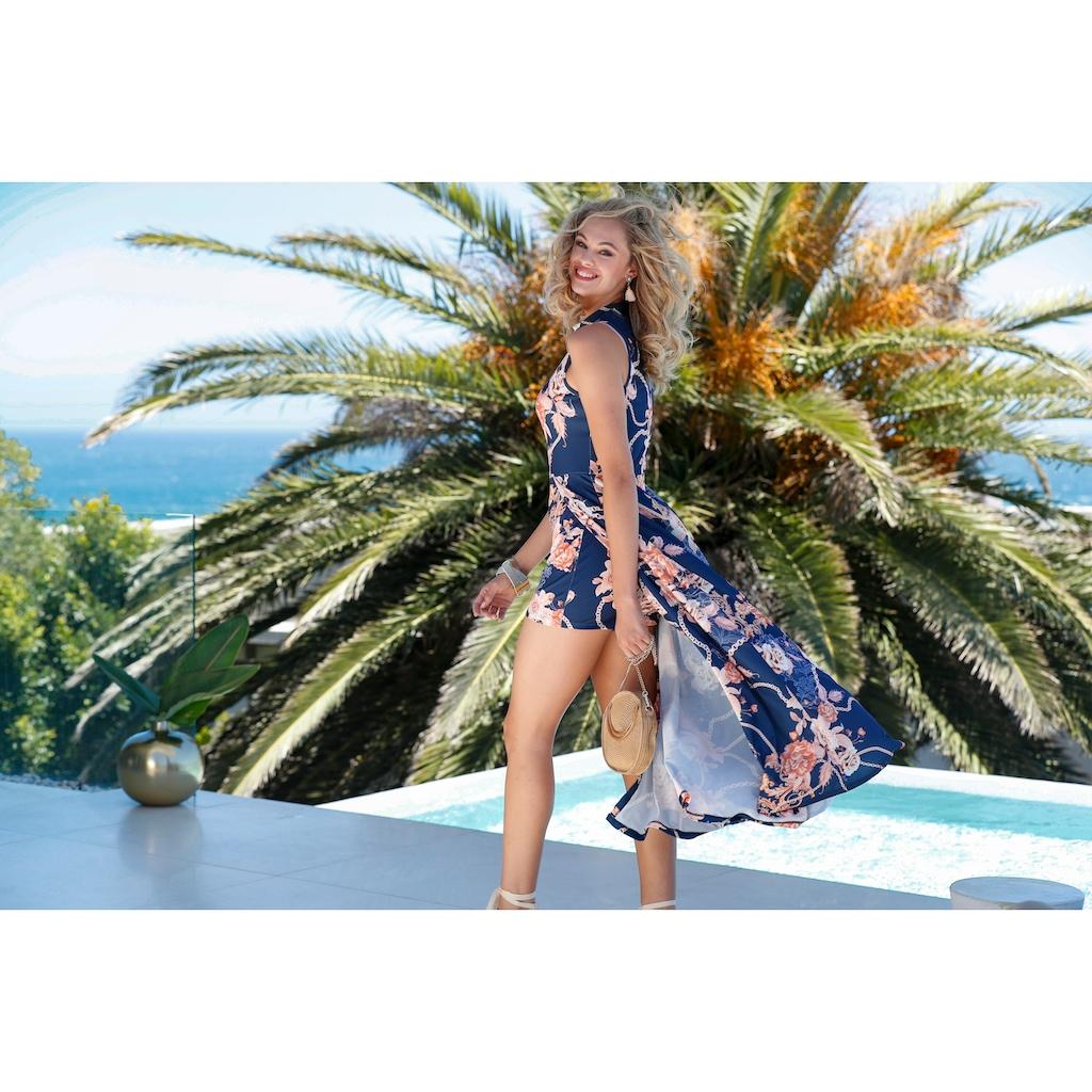 LASCANA High-Heel-Sandalette, mit Keilabsatz im Espadrille-Look