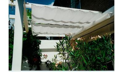 Floracord Sonnensegel, BxT: 330x140 cm, elfenbeinfarben kaufen
