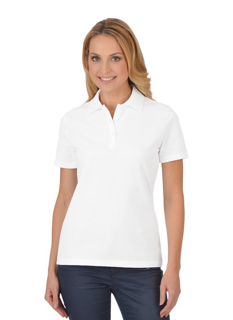 Trigema Poloshirt aus Baumwolle | Bekleidung > Shirts > Poloshirts | Trigema