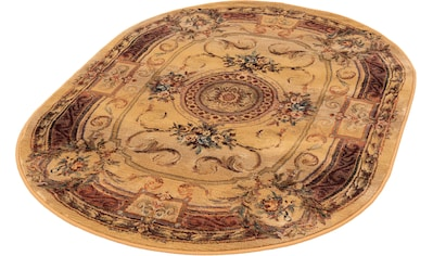 Teppich, »Gabiro 856«, THEKO, oval, Höhe 12 mm, maschinell gewebt kaufen
