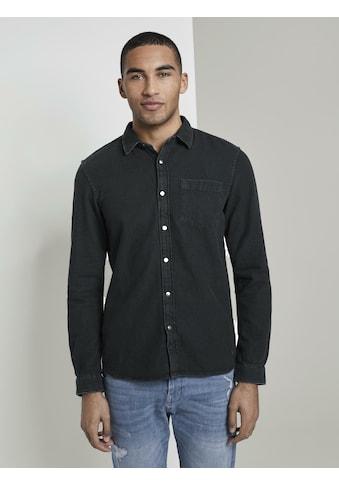 TOM TAILOR Denim Jeanshemd »Jeanshemd« kaufen