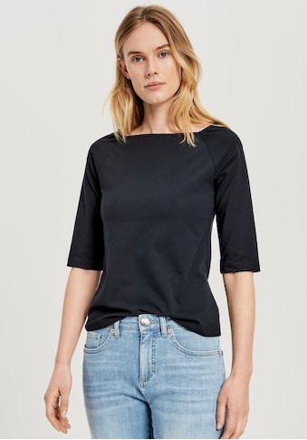 OPUS Blusenshirt »Solliva«, mit eckigem Ausschnitt kaufen