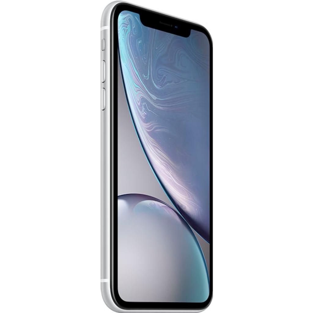 """Apple Smartphone »iPhone XR 6,1"""" 128 GB«, (15,5 cm/6,1 """" 128 GB Speicherplatz, 12 MP Kamera), ohne Strom-Adapter und Kopfhörer"""