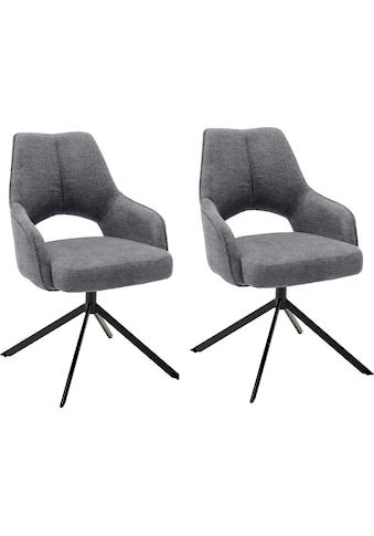 MCA furniture Armlehnstuhl »Bangor«, Stoffbezug Chenille Optik, 180° drehbar mit... kaufen