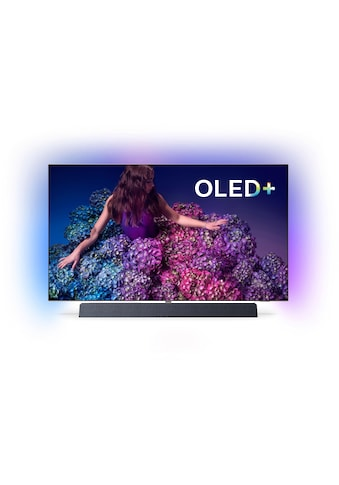 Philips 55OLED934/12 OLED - Fernseher (139 cm / (55 Zoll), 4K Ultra HD, Smart - TV kaufen