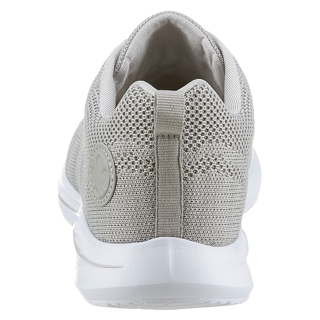 Rieker Sneaker, im gestrickten Look