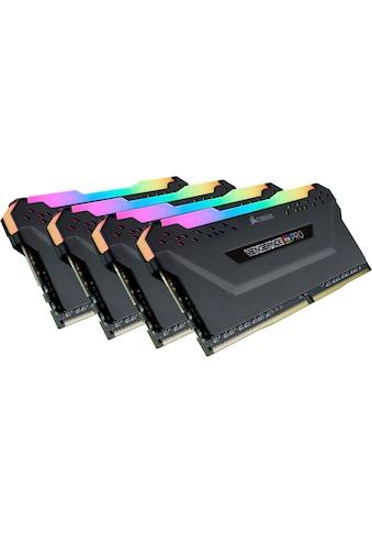 Corsair »VENGEANCE® RGB PRO 64 GB (4 x 16 GB) DDR4 DRAM 2.933 MHz C16« PC - Arbeitsspeicher kaufen