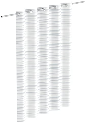 Eisl Duschvorhang »White Wave«, Breite 180 cm kaufen