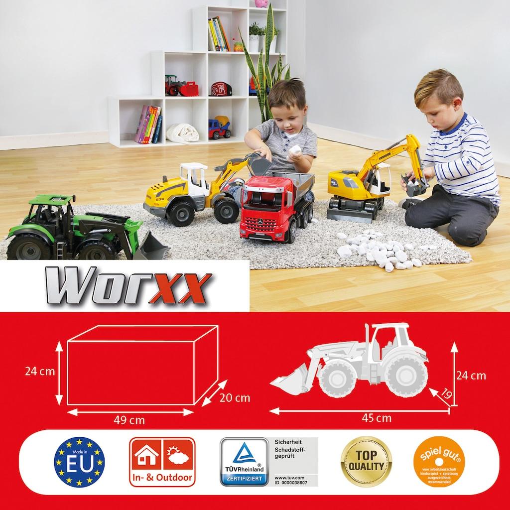 Lena® Spielzeug-Traktor »Worxx, Deutz 7250 TTV Agrotron«, Made in Europe