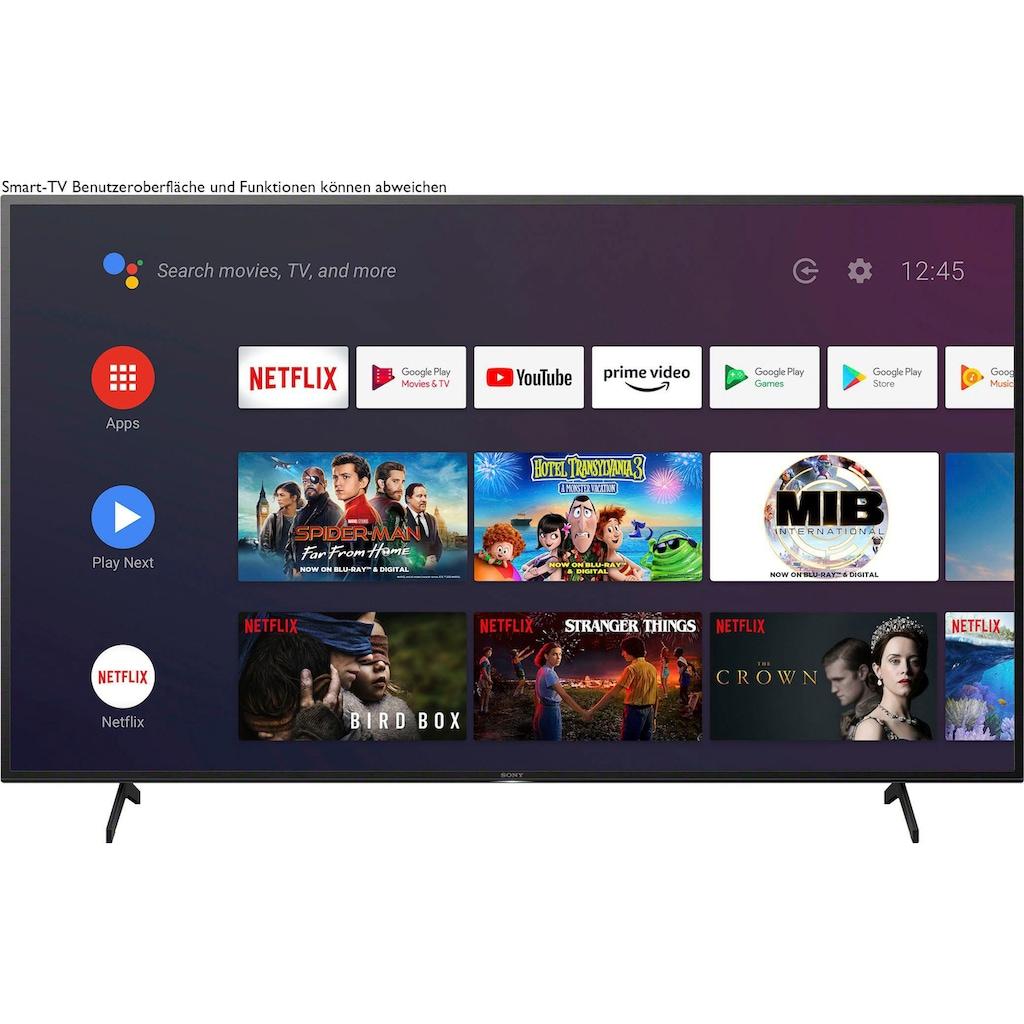"Sony LED-Fernseher »KE-55XH8096«, 139 cm/55 "", 4K Ultra HD, Android TV-Smart-TV"