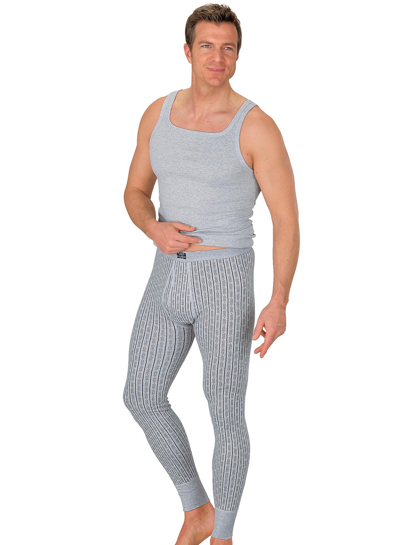 Esge Lange Unterhose, (1 St.) grau Herren Unterhosen Herrenwäsche Unterhose