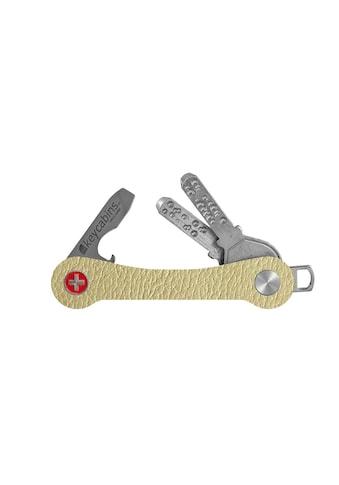 keycabins Schlüsselanhänger »Leather S1 beige«, SWISS made aus upcycling Material kaufen