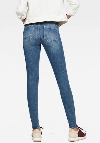 G-Star RAW Skinny-fit-Jeans »Lynn Mid Super Skinny«, mit Stretchanteil kaufen