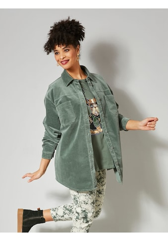 Angel of Style Blusenjacke, aus Cord kaufen