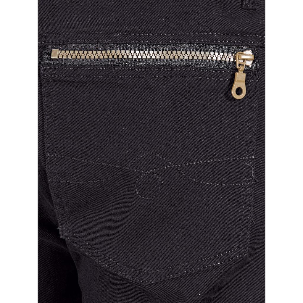 Roger Kent Stretch-Jeans, mit Elasthan