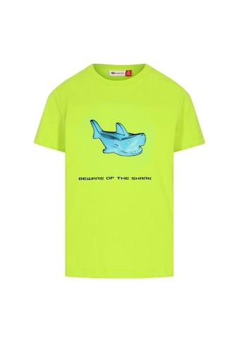 """LEGO® Wear Kurzarmshirt »LWTIAS 308«, """" Schriftzug BEWARE OF THE SHARK"""" kaufen"""