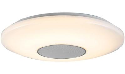 WOFI Deckenleuchte »Appollon«, LED-Board, 1 St., Bluetooth-Verbindung via Smartphone, Tablet etc. möglich; Musik-Steuerung auch über Fernbedienung möglich; Helligkeitseinstellung möglich kaufen