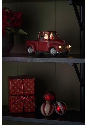 "KONSTSMIDE LED Laterne, LED-Modul, 1 St., Warmweiß, LED ""Pick-up mit Weihnachtsmann"",... kaufen"