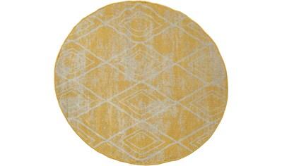 Teppich, »Artigo 427«, Paco Home, rund, Höhe 11 mm, maschinell gewebt kaufen