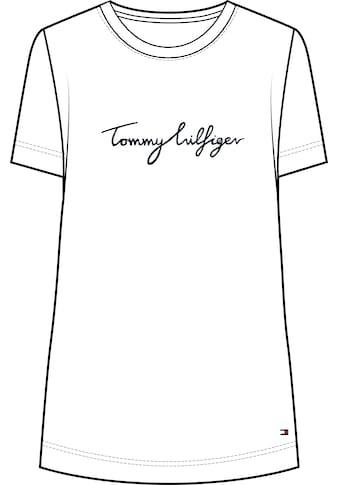 Tommy Hilfiger Curve Rundhalsshirt »CRV CREW NECK GRAPHIC TEE«, mit verspieltem Tommy... kaufen