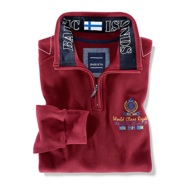 Babista Sweatshirt mit aufwändigen Details