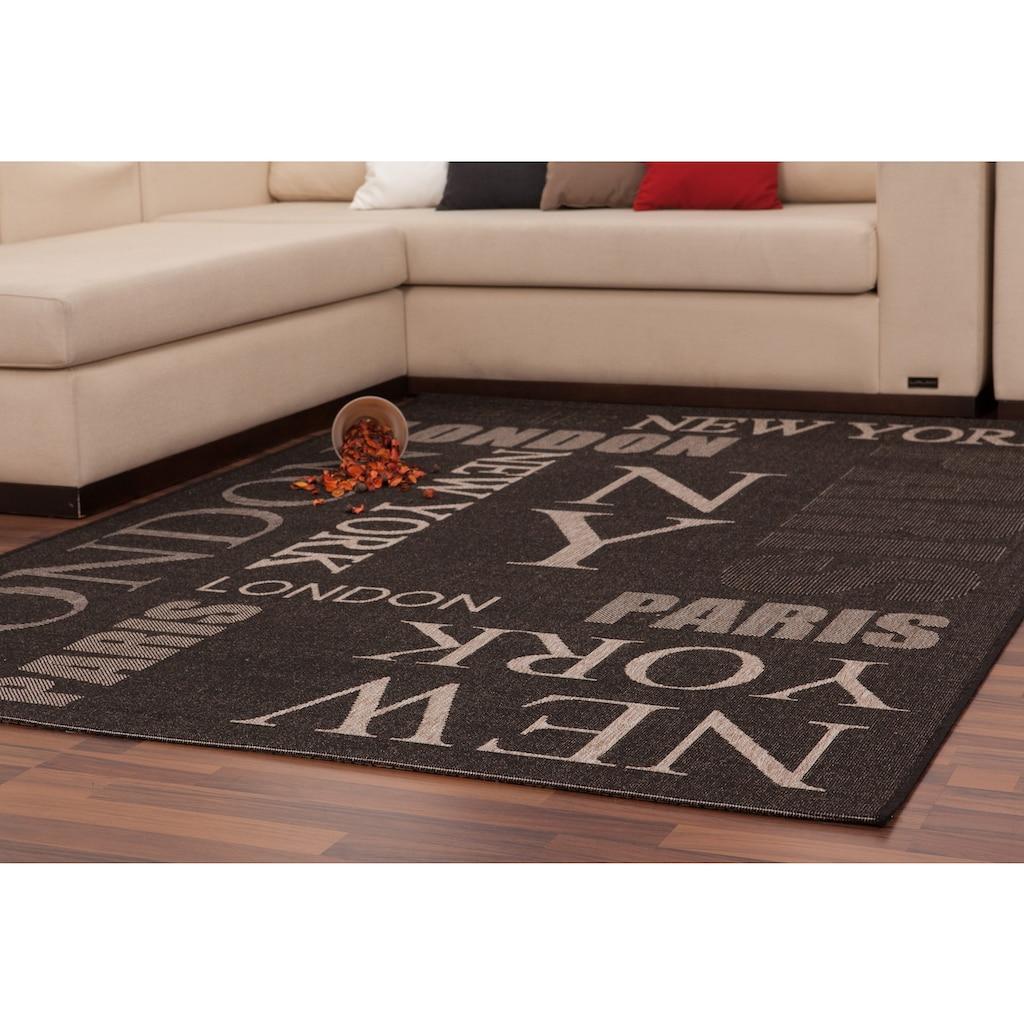 LALEE Teppich »Finca 511«, rechteckig, 5 mm Höhe, Wohnzimmer