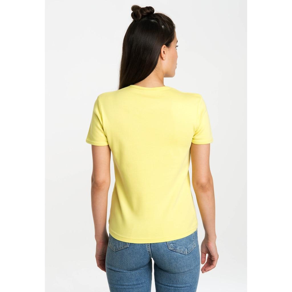 LOGOSHIRT T-Shirt »Spongebob - It Feels Nice«, mit lizenziertem Originaldesign