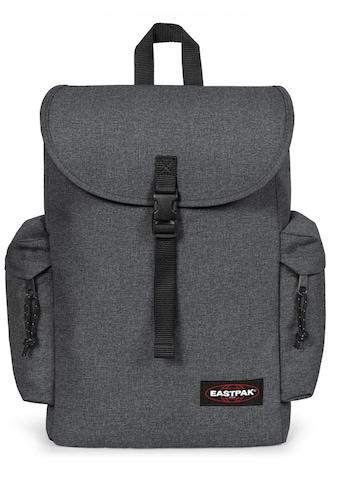 Eastpak Laptoprucksack »AUSTIN+ black denim« kaufen