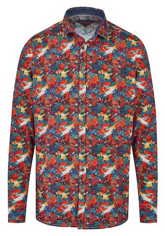 Rich Friday Langarmhemd in Malerei-Optik kaufen